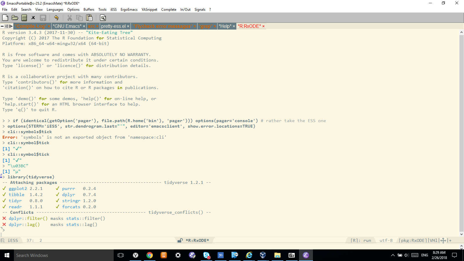 R And Utf 8 Conundrum On Windows Issue 492 Emacs Essess Github