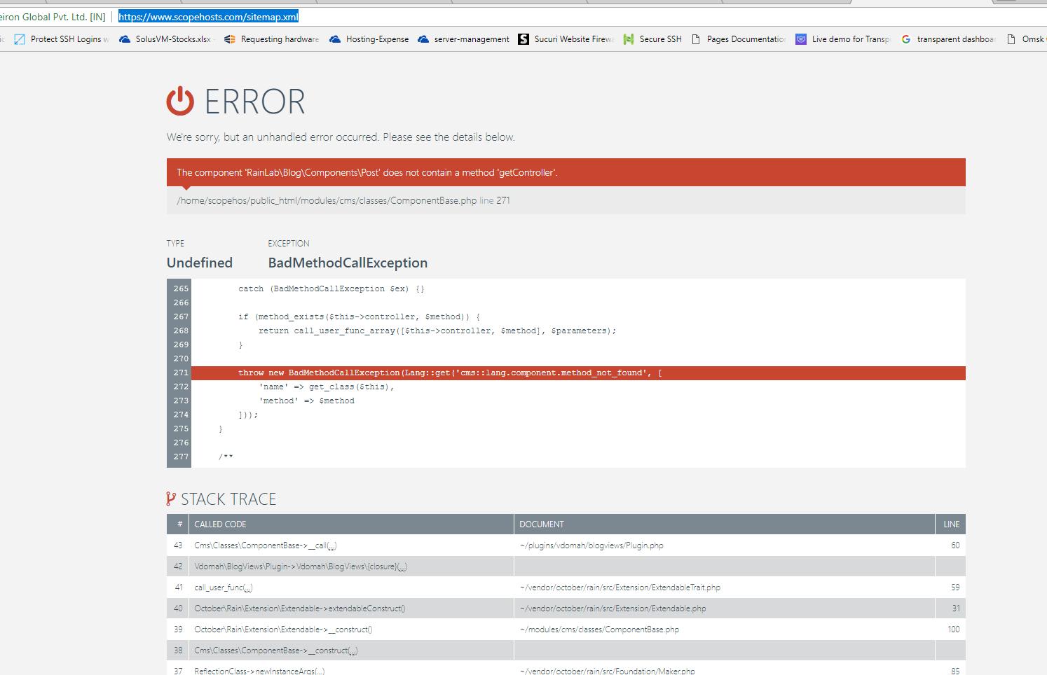 sitemap-error