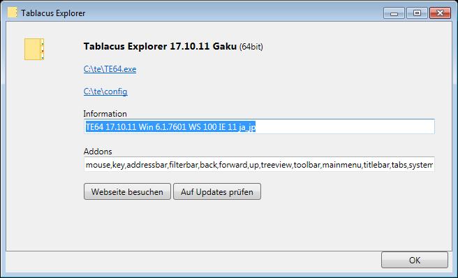 TE 64 bit no longer working · Issue #99 · tablacus