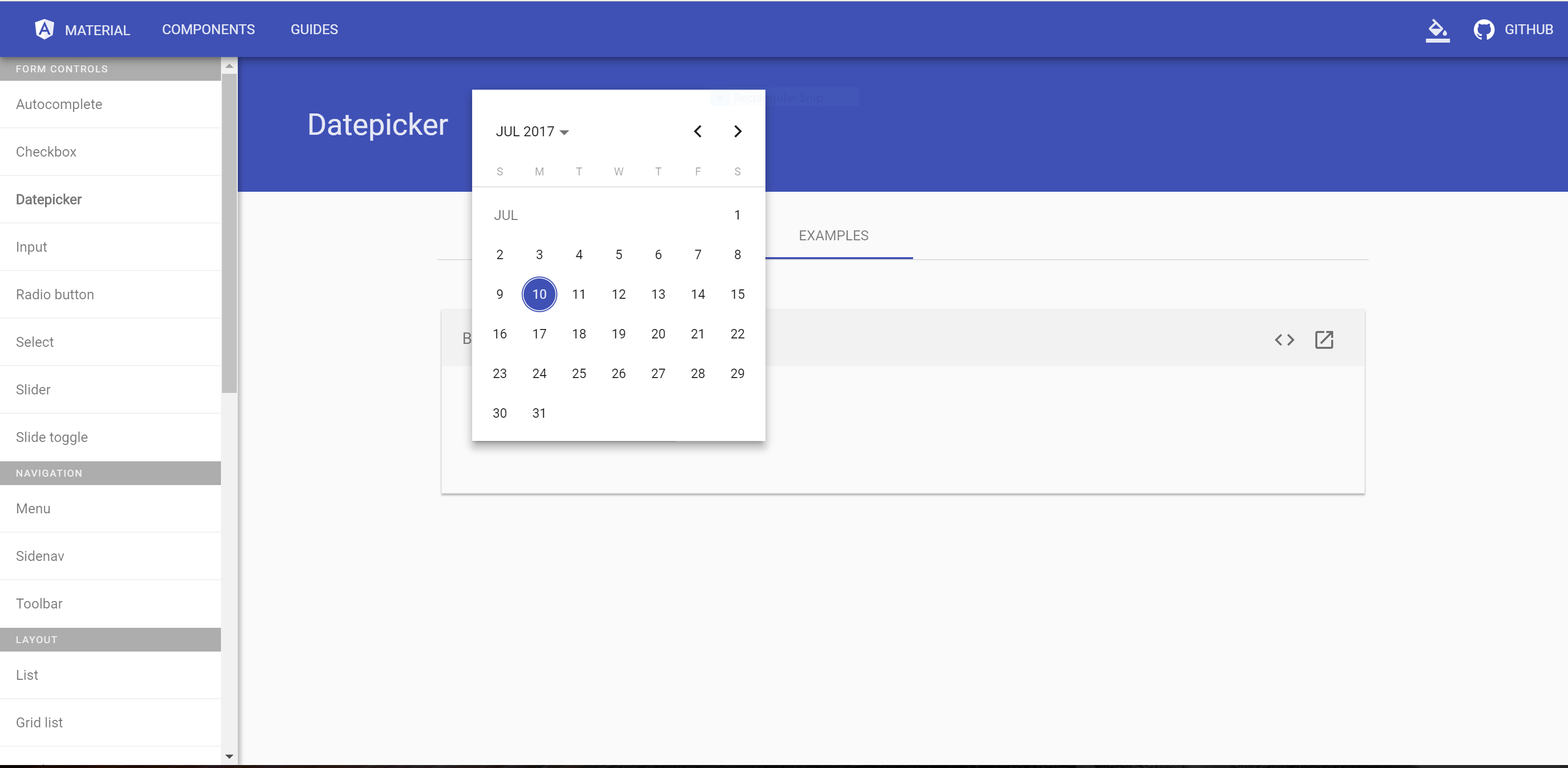 datepicker doesn't open to correct month for non US date format
