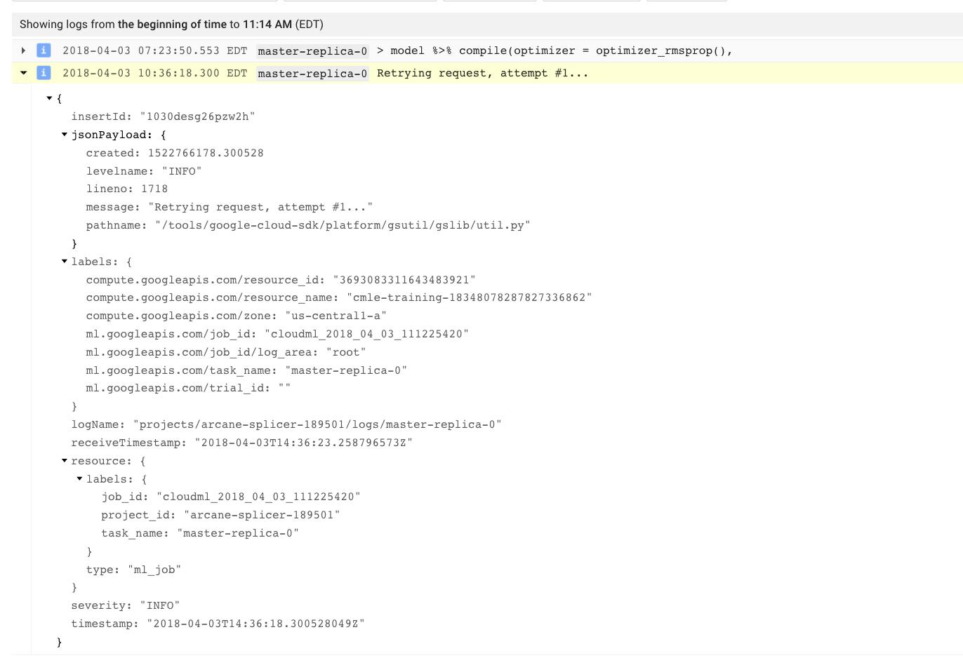 Support for Training ImageNet · Issue #135 · rstudio/cloudml