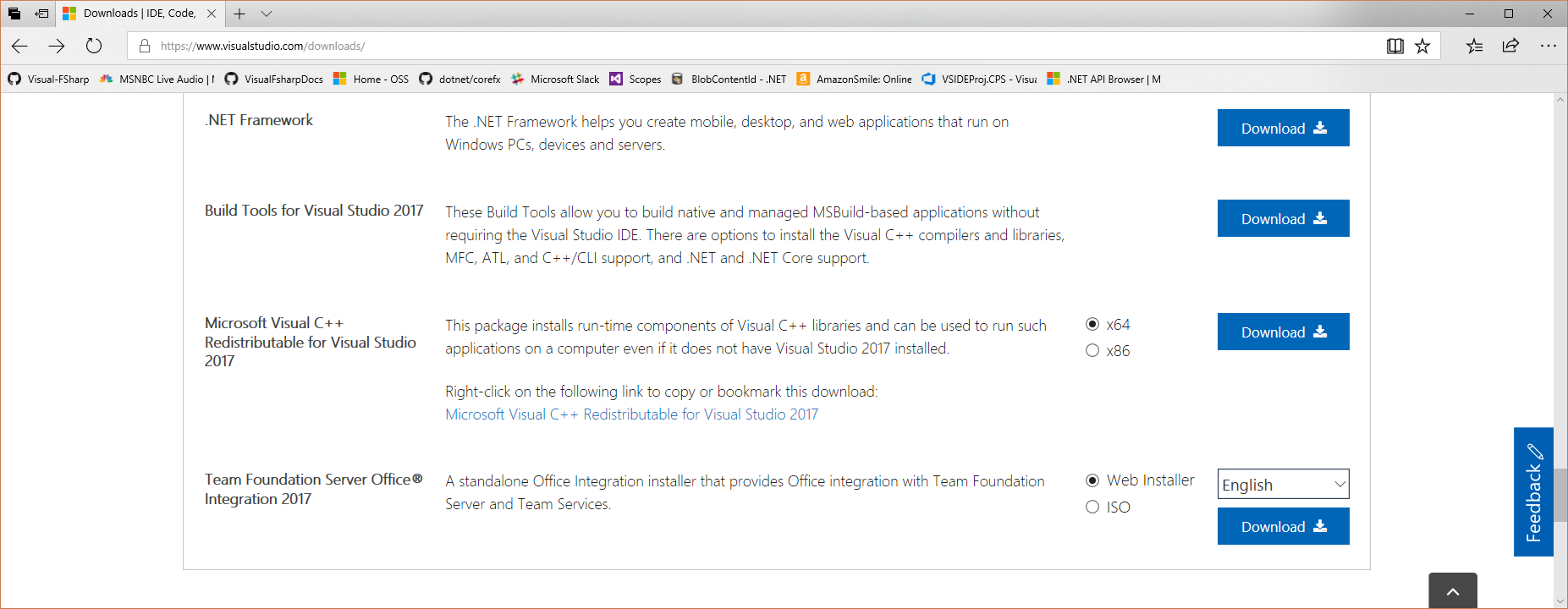 Deploy F# Compiler SDK to Microsoft Download Center · Issue