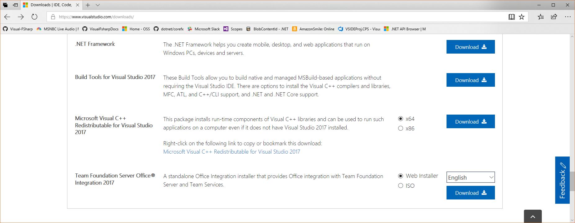 msbuild tool download