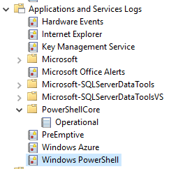 PowerShell extension stuck at