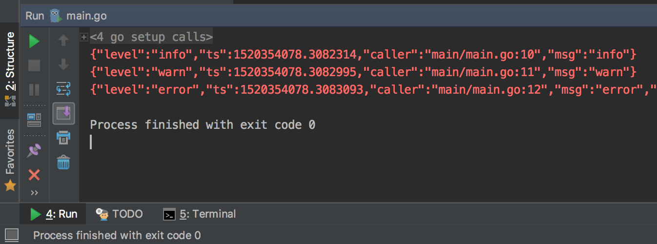 Output to the console of Jetbrains IDEA, text color exception