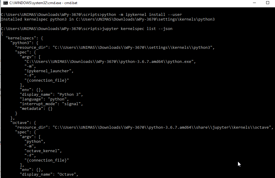Language In 45 And 47 Stella Street: `No Kernel For Language Python Found` On Hydrogen Run