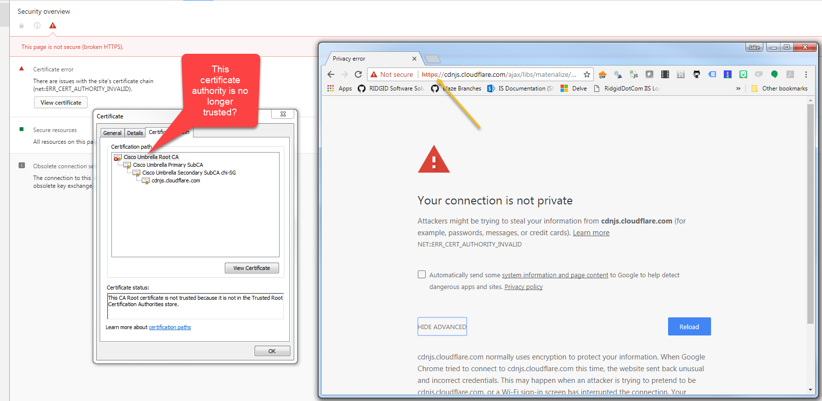 Invalid certificate authority for cdnjsoudflare issue image 1betcityfo Choice Image