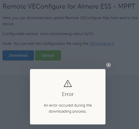 mqtt-rpc: on VRM show error details & codes of vup/dup etc · Issue