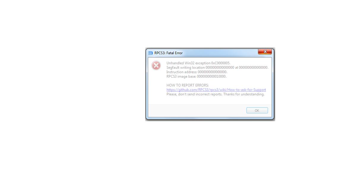 Skate 3 - [BLES00760] White screen crash or fatal error