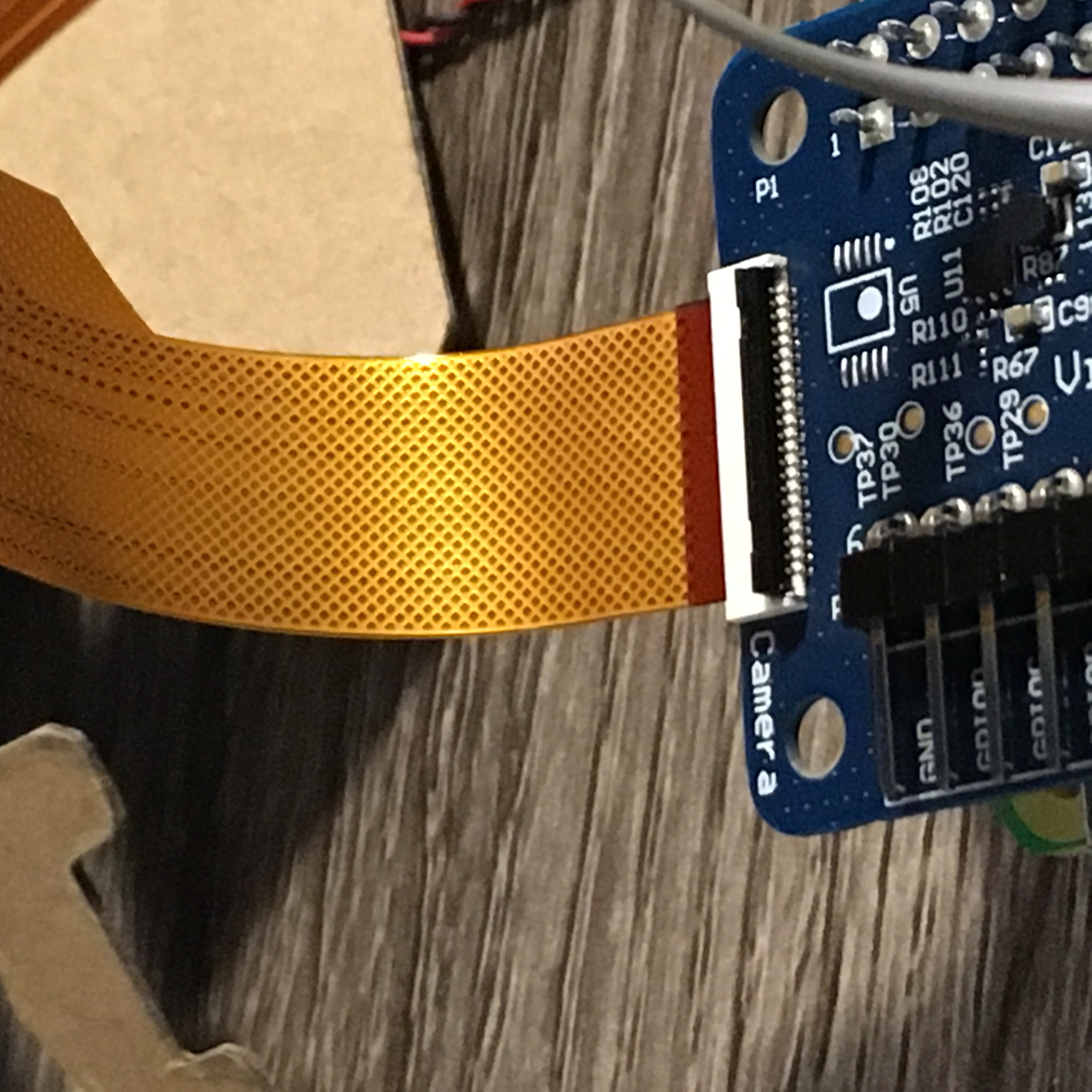 V2 raspberry pi camera not working with Vision Bonnet