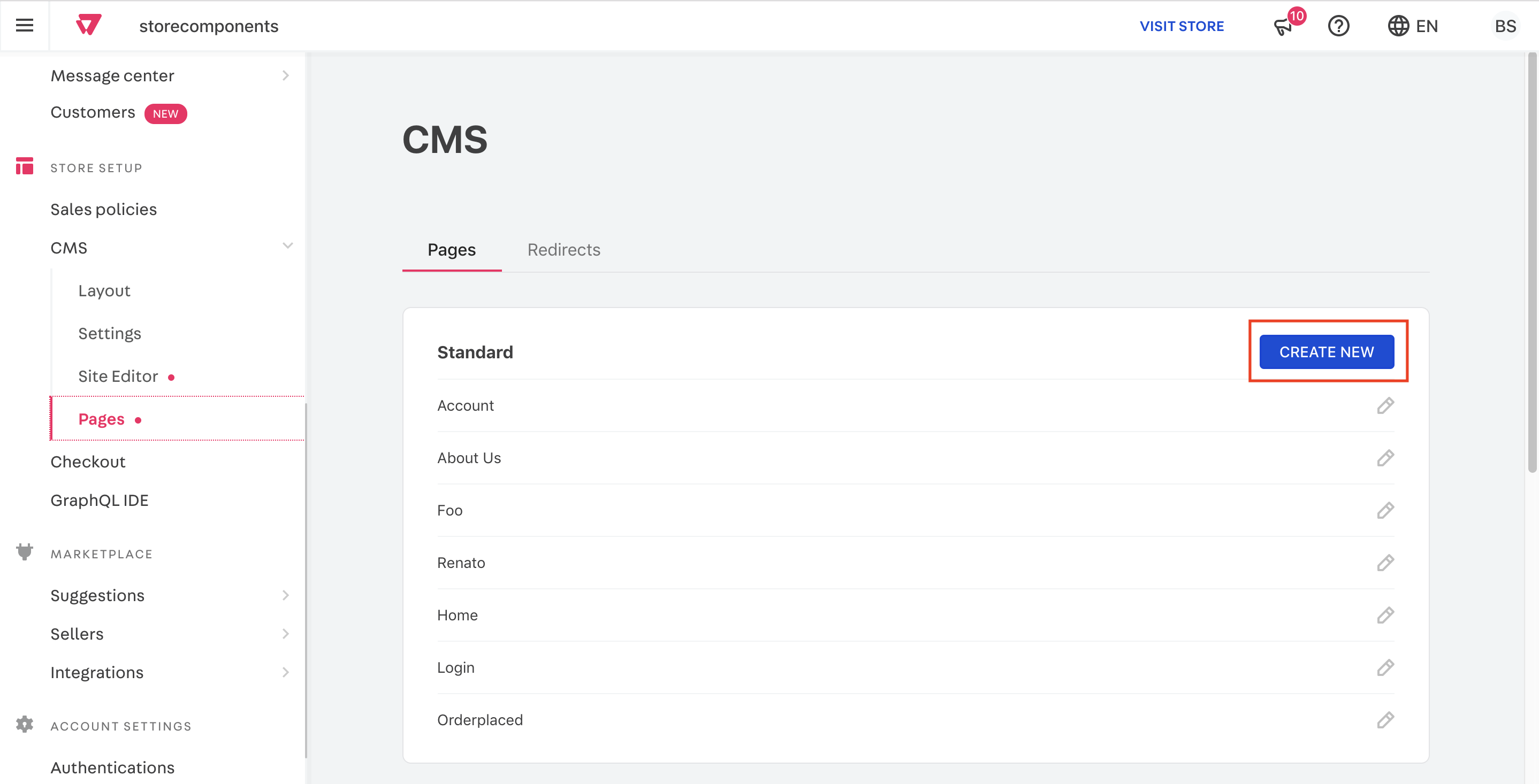 custom-pages-pages