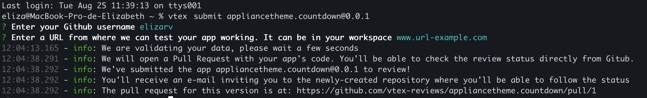 submitting-github-terminal