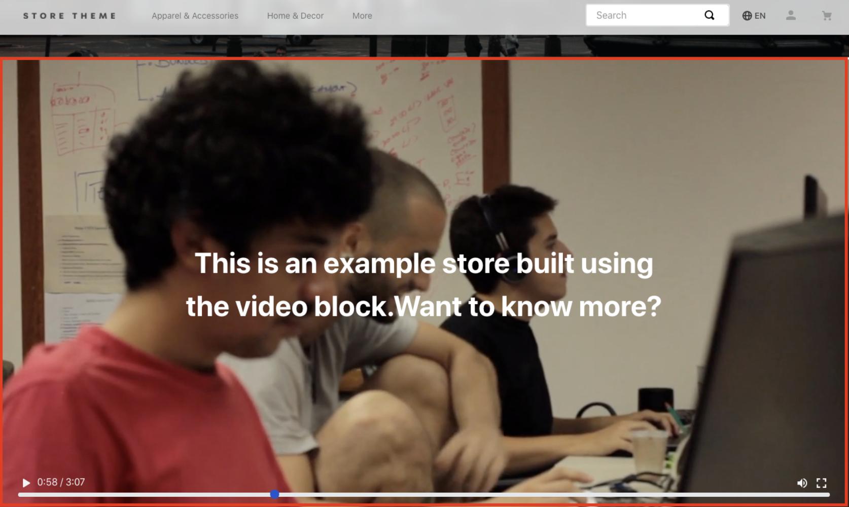 store-video
