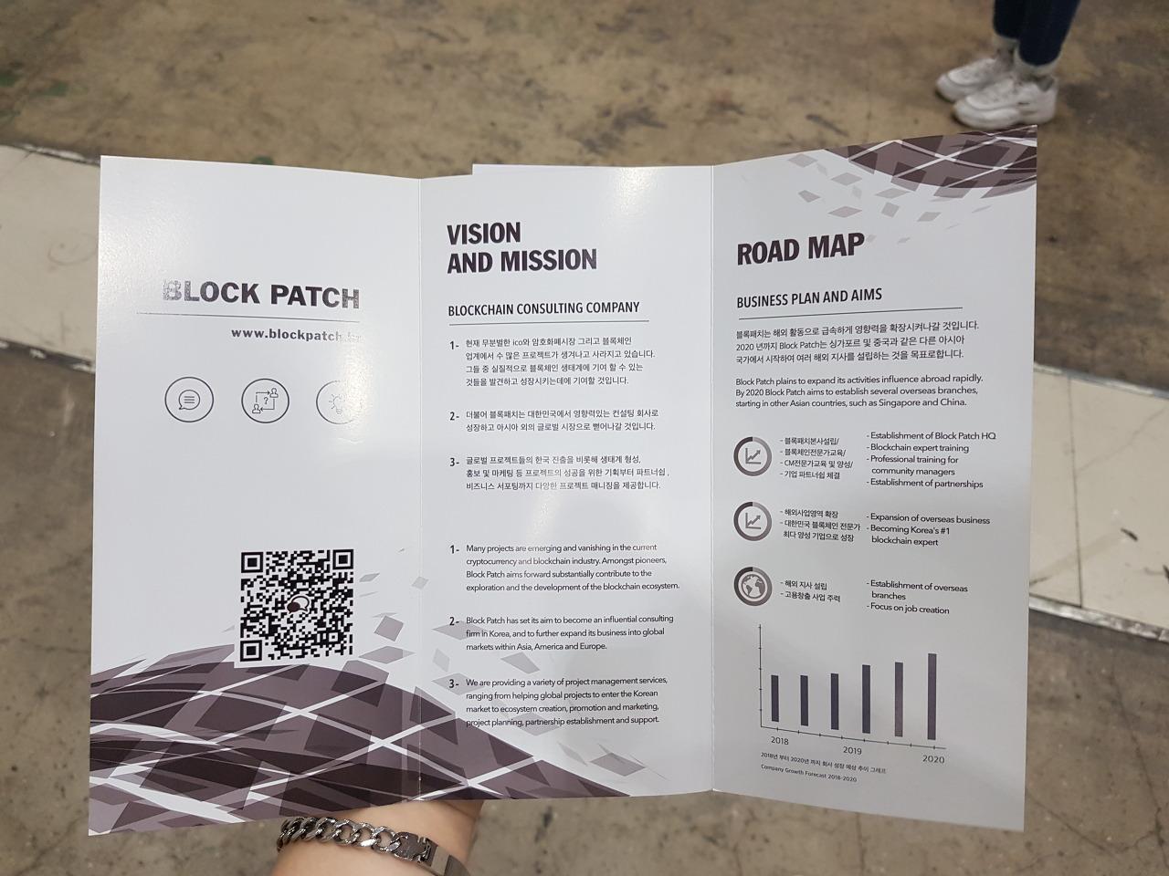 블록패치 (Block Patch) 팸플릿
