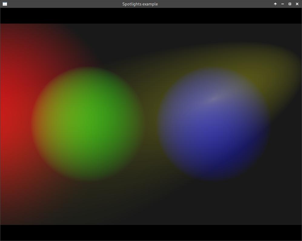 Spot light screenshot