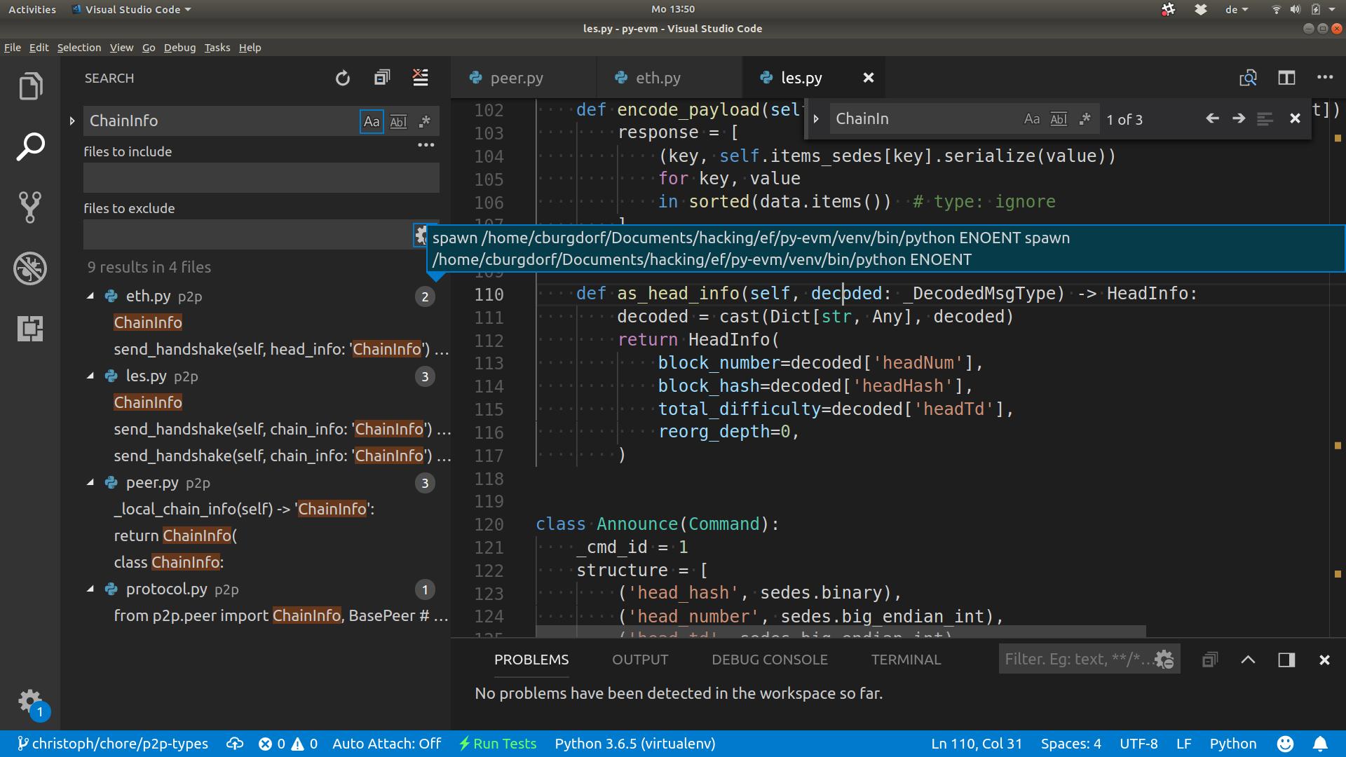Renaming symbols in Python code sometimes errors · Issue #52793 ...