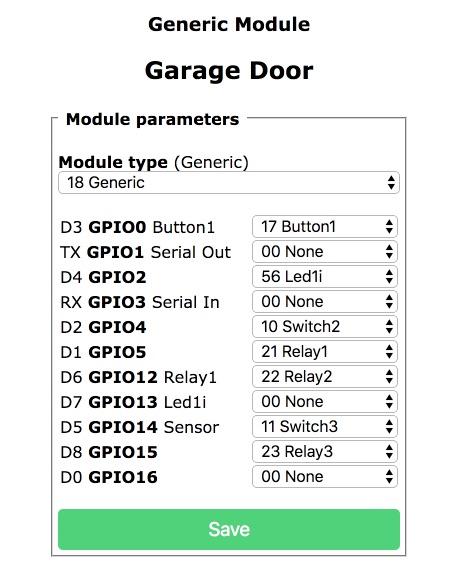 Garage Door opener with sensors, publish Rule not working
