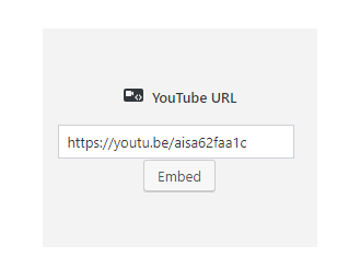 I cant embed youtube video · Issue #8411 · WordPress
