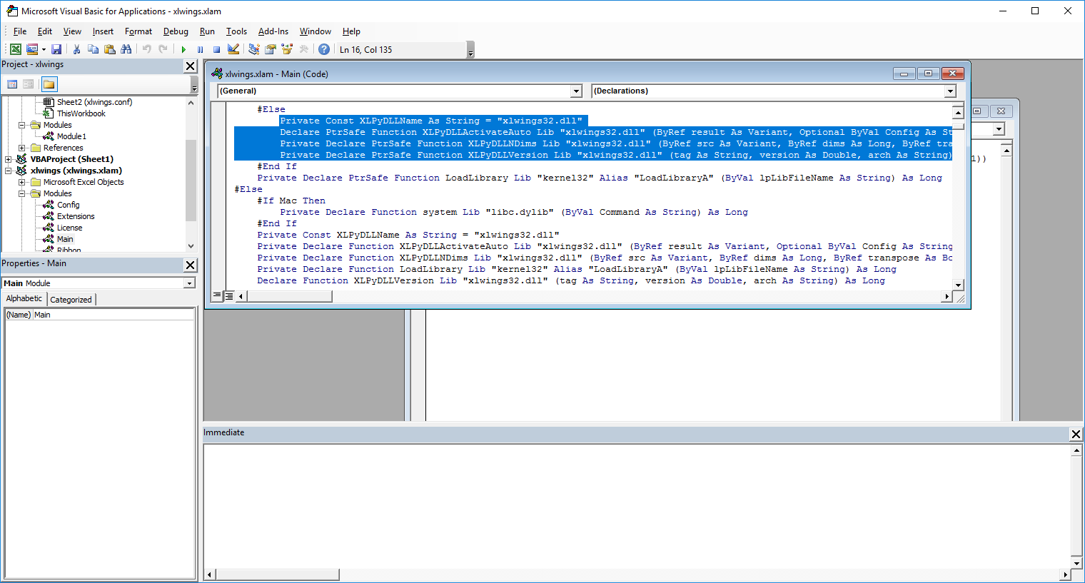 visual basic for applications and function The visual basic code is mainly there to make it possible to use objects customized for each office host application the fusion between vba and host specific code can be seen in this code sample (taken from the microsoft northwind sample database) where purely vba code is shown in red and access specific code is shown in blue.