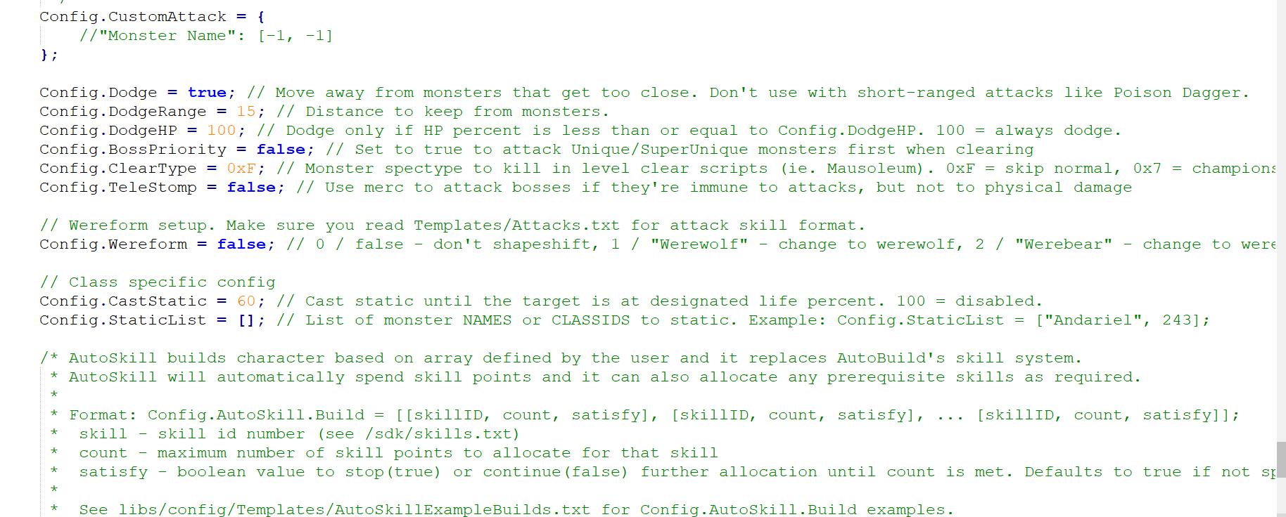 Bot wont do certain bosses · Issue #1676 · kolton/d2bot-with-kolbot