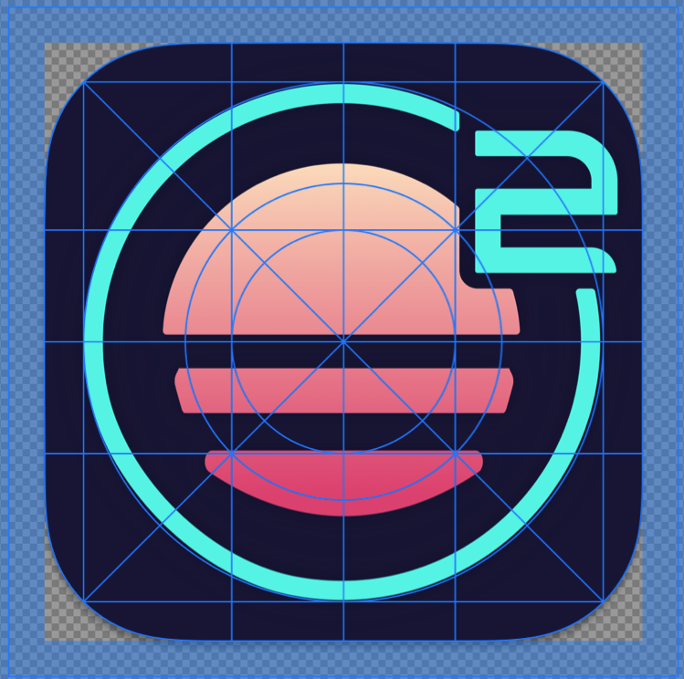 Screenshot of Sketch demonstrating the new icon shape