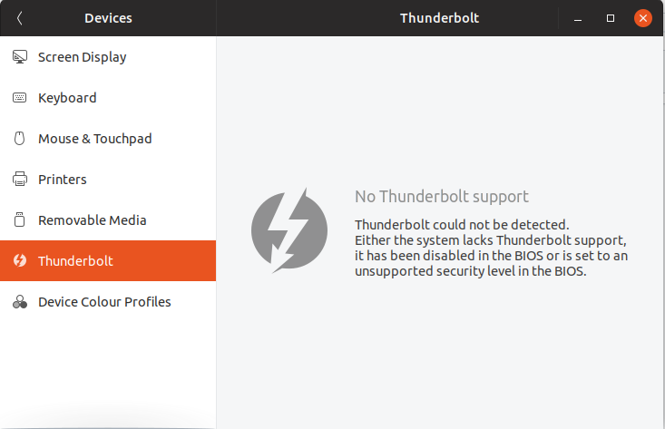 Thunderbolt firmwarm fails after Thunderbolt NVM (33) XPS