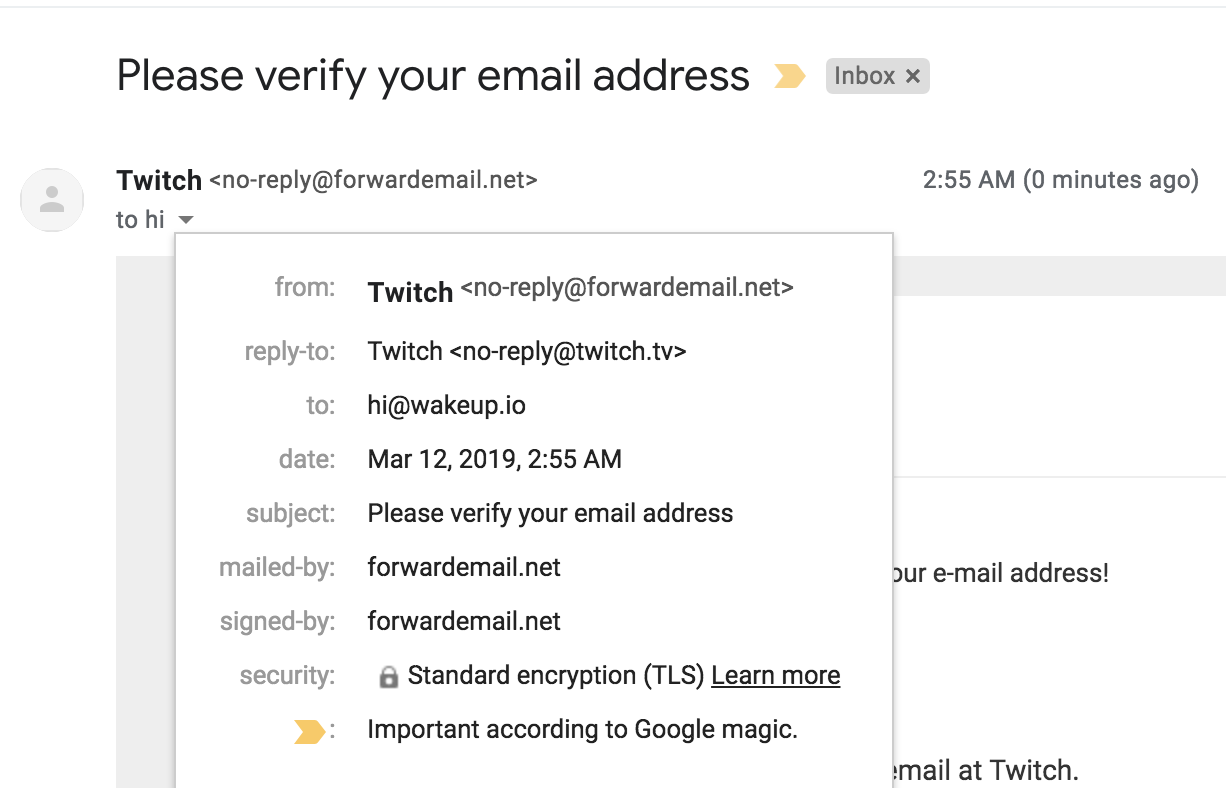Emails from amazon com going to spam folder in Gmail · Issue