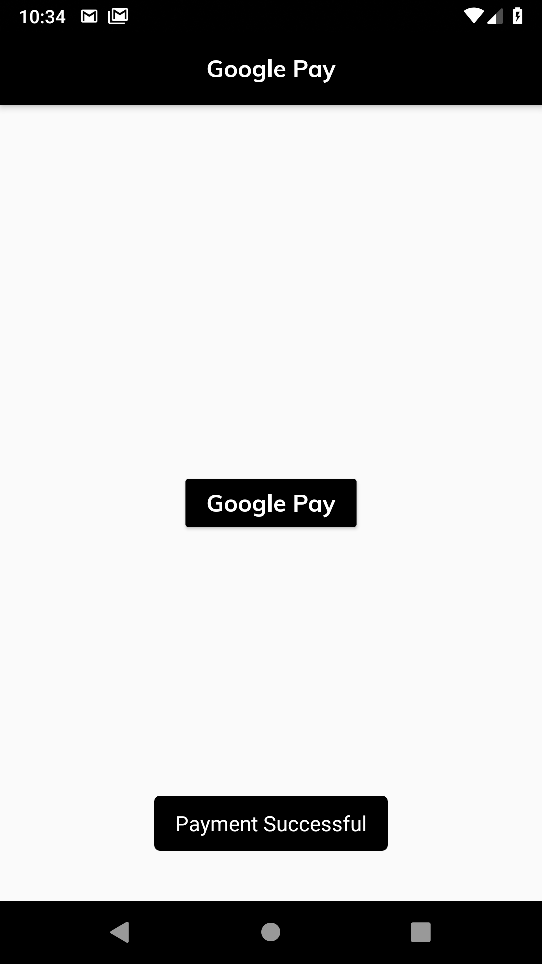 Google Pay With Stripe In Flutter