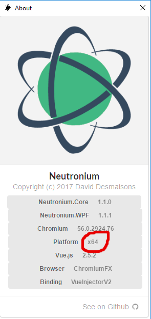 Is neutronium supporting AnyCpu and x64 ? · Issue #25