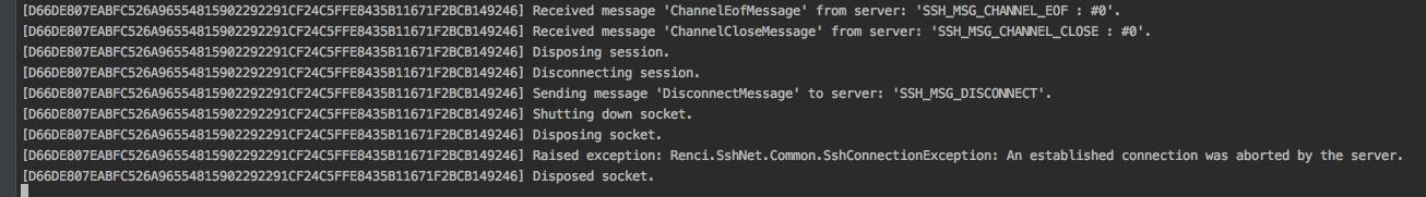 Sshclient deadlock/freeze on disconnect · Issue #355