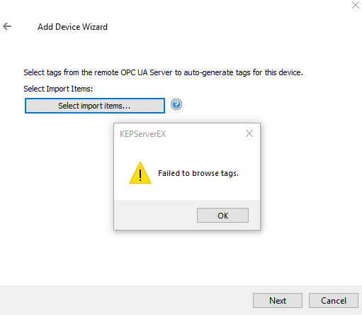 Kepware tag browsing issue · Issue #29 · FreeOpcUa/opcua