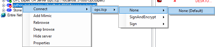Bug Report] Kepware (and OPC Expert) can't read tags from Python OPC