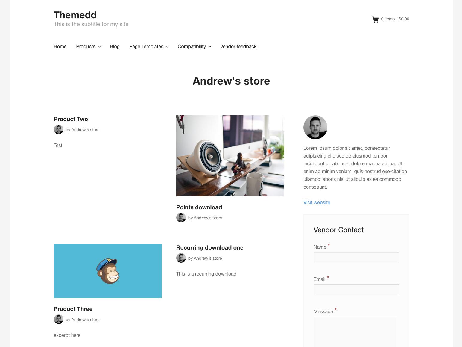 fes vendor profile page template issue 21 easydigitaldownloads
