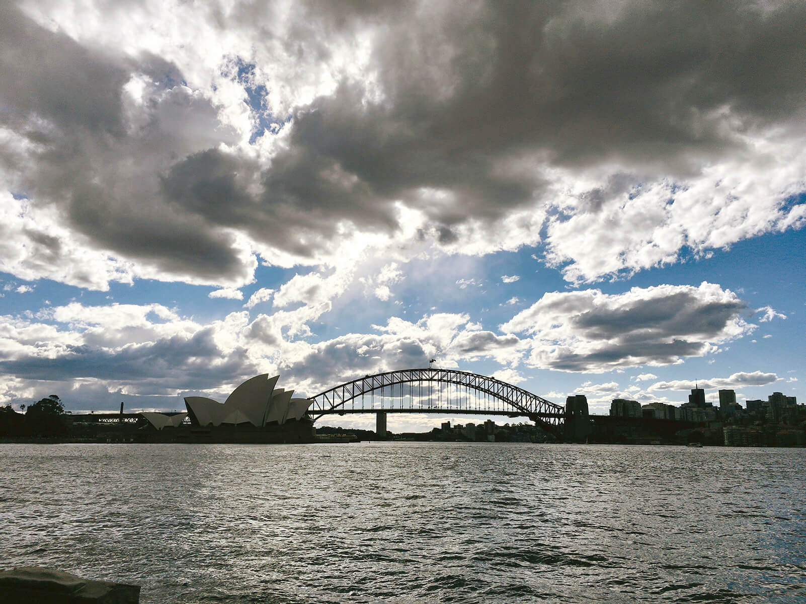 Great Views from Mrs Macquarie's Chair