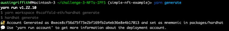 🏗 Scaffold-ETH - 🎟 Simple NFT Example - 🏗 脚手架ETH-🎟 简单的NFT示例