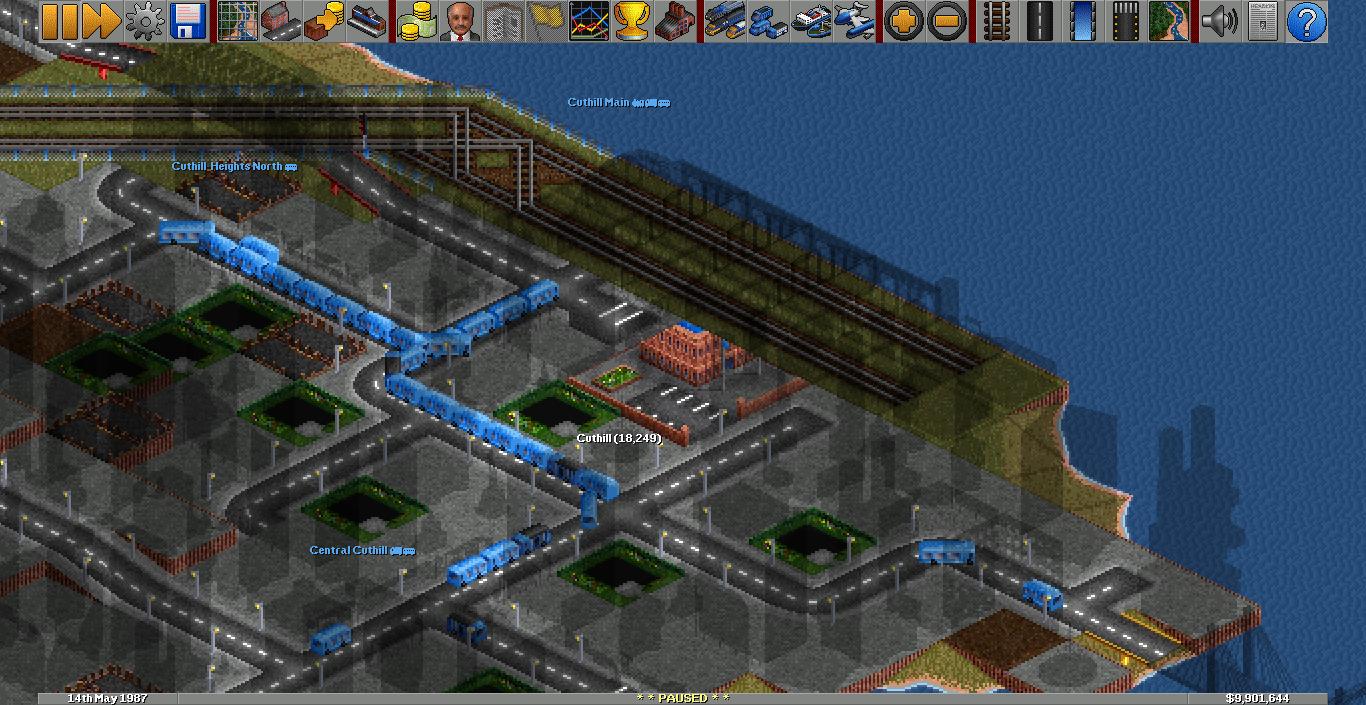 Cuthill   Sundhead Railways, 14th May 1987