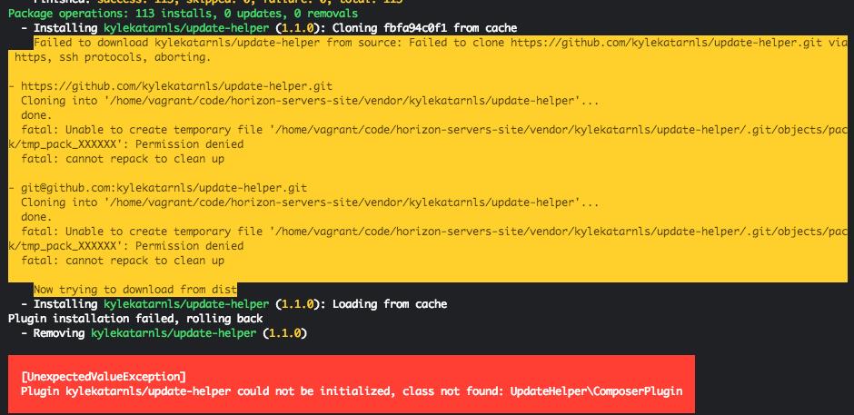 class not found: UpdateHelper\ComposerPlugin · Issue #2