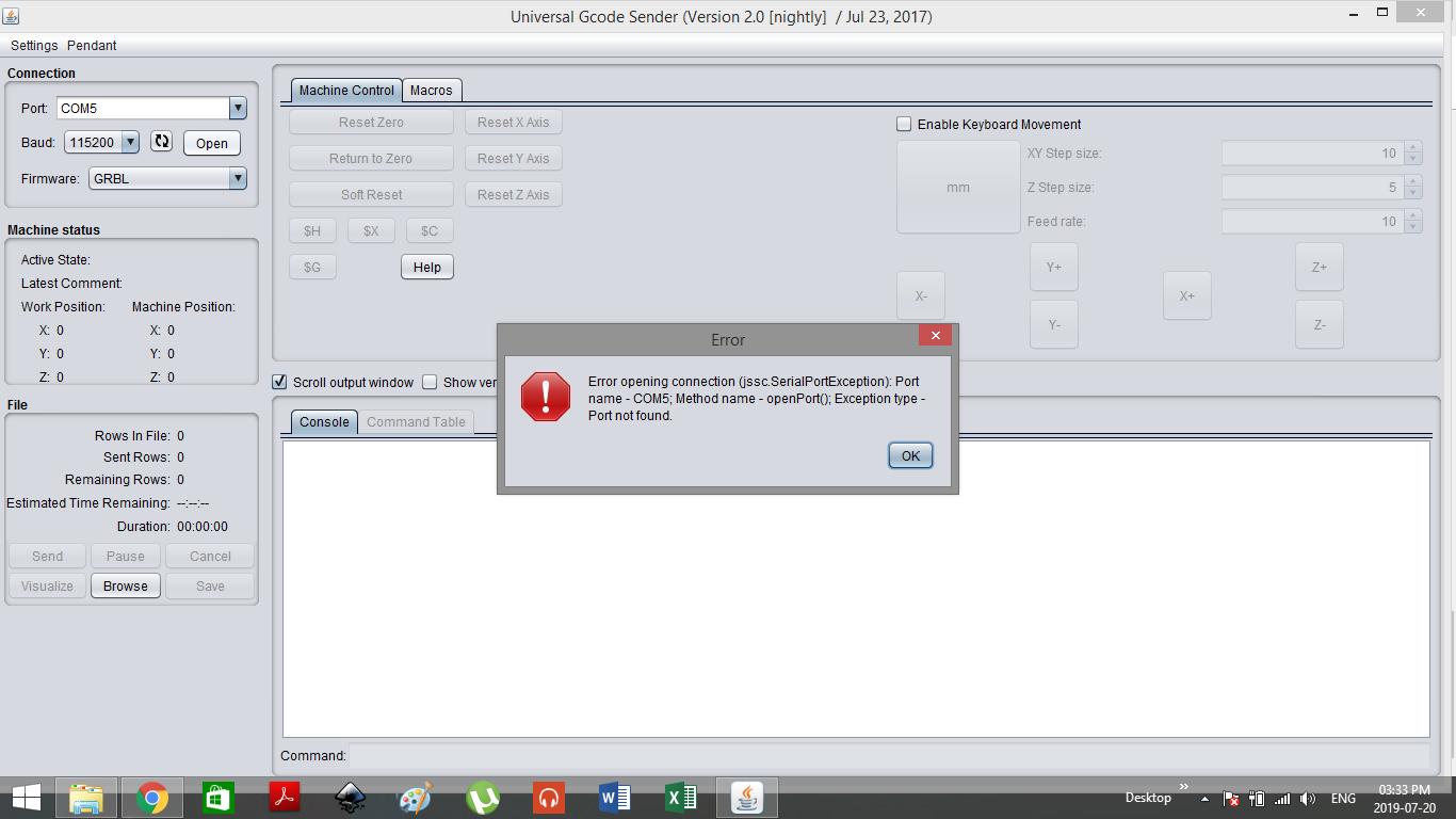 COM port not found - UGS Platform on Mac · Issue #1052