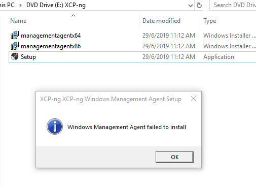 XCP-ng Windows PV-Drivers 8 2 2 · Issue #181 · xcp-ng/xcp