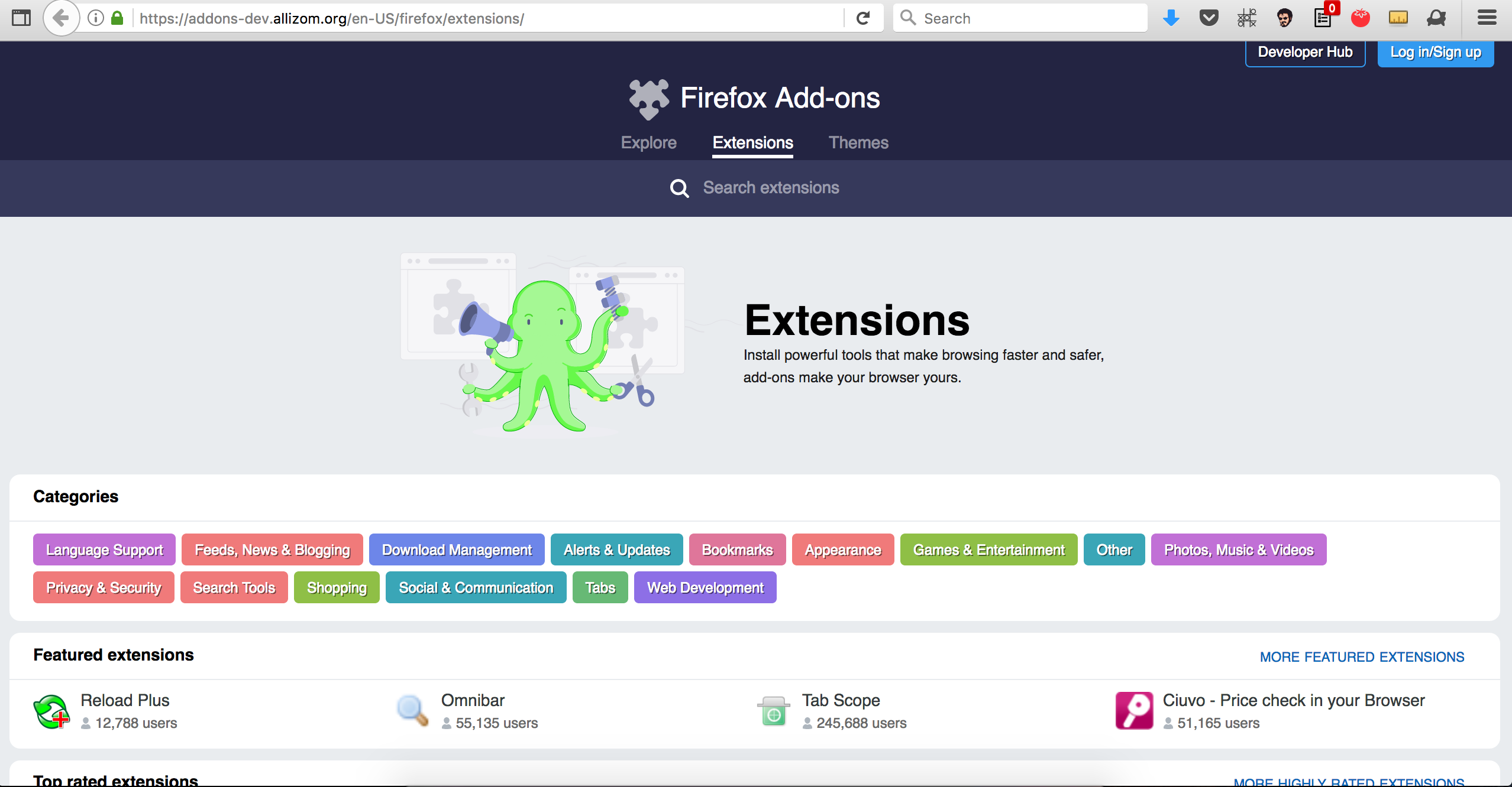 safari browser themes