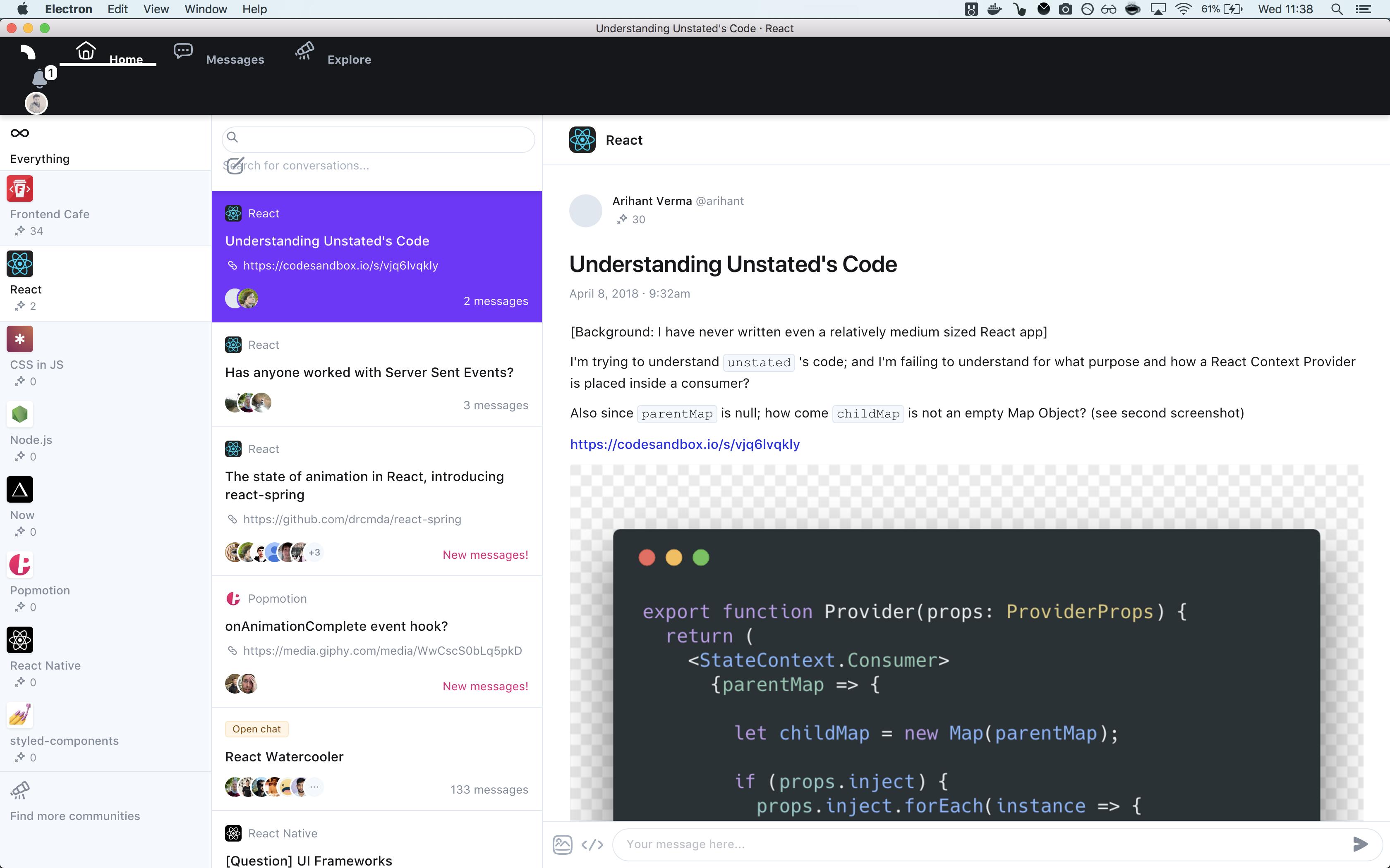Desktop app · Issue #257 · withspectrum/spectrum · GitHub