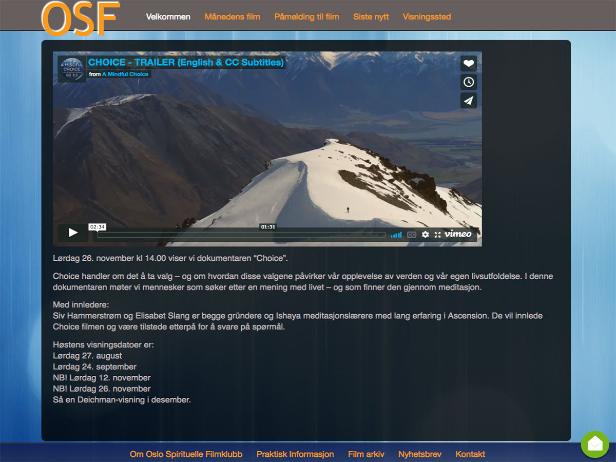 osf-test-front-page