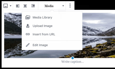 Media-toolbar-drop-down