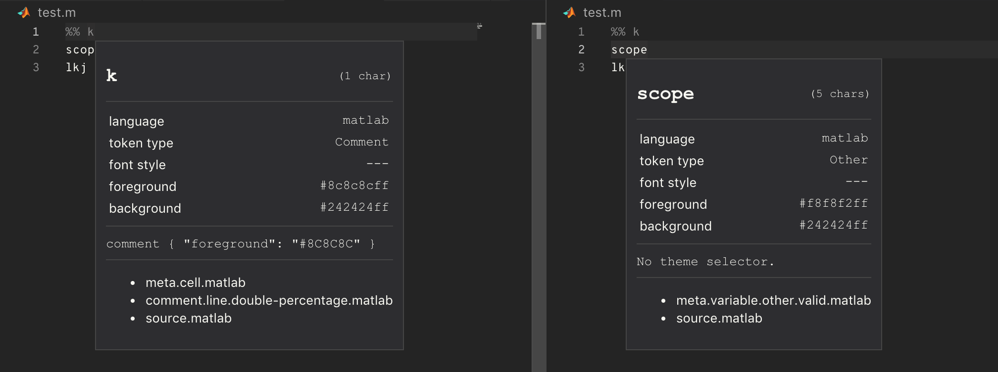 Double percent symbol comment bug · Issue #58 · Gimly/vscode-matlab