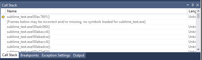 Several crashes while typing text · Issue #1832
