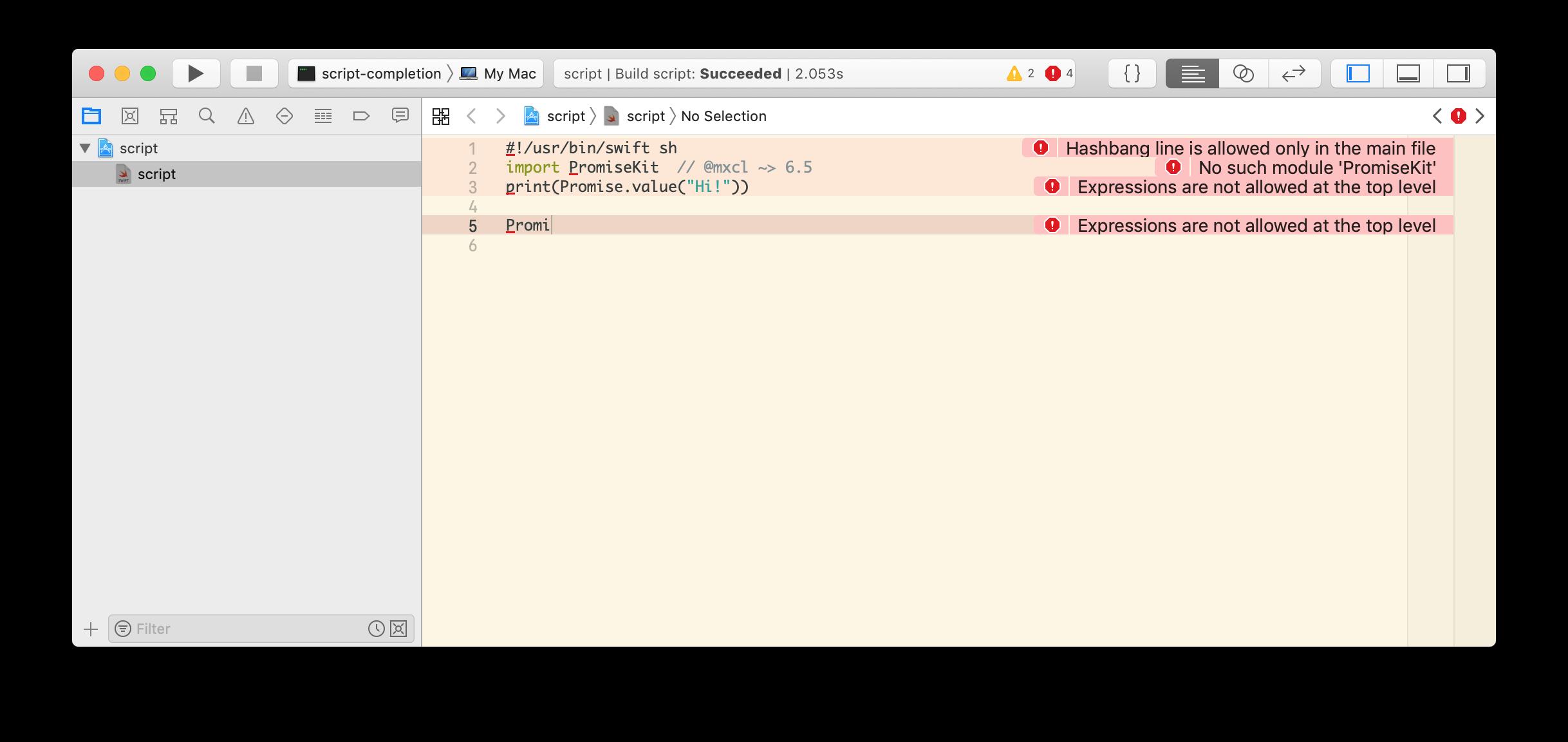 xcode-scheme-script-completion