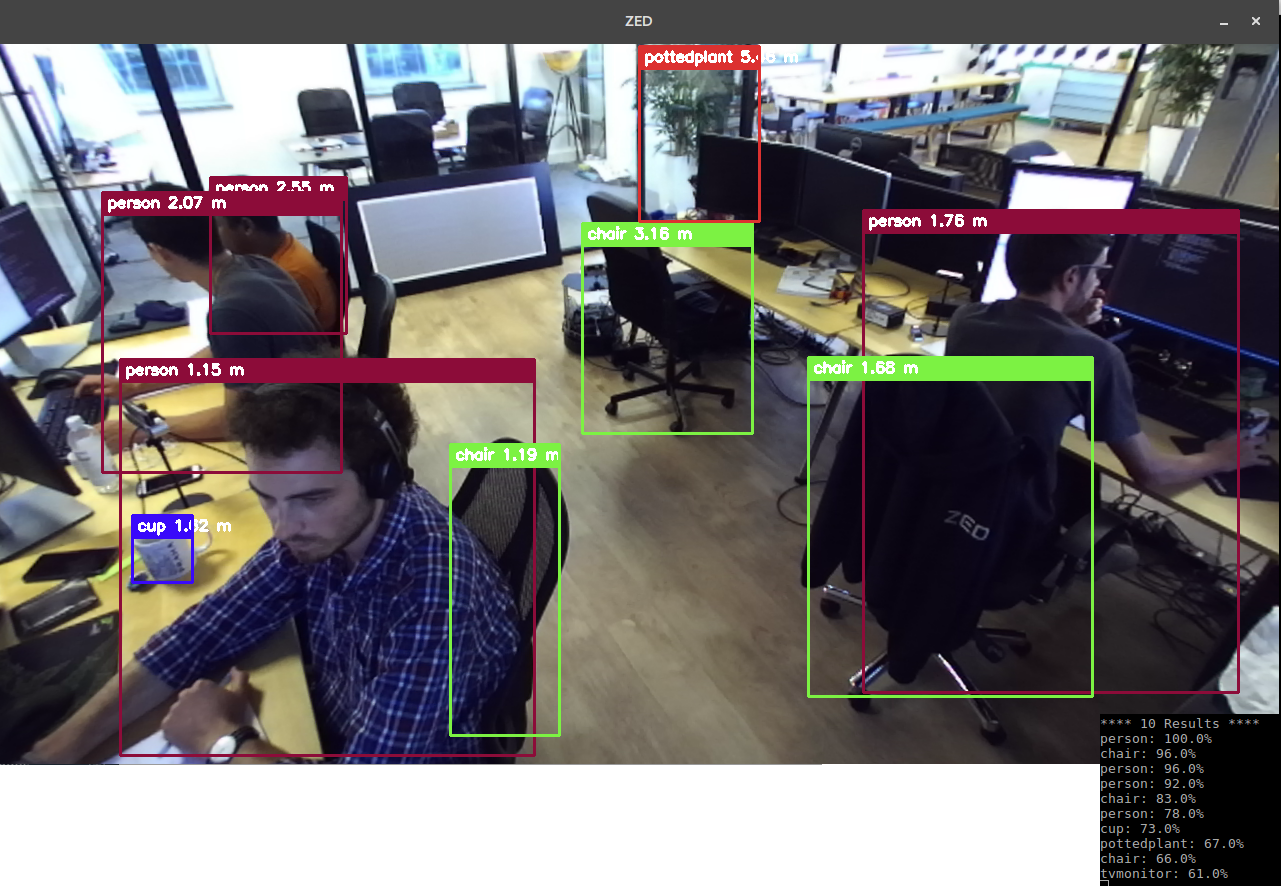 3D Tracking with Zed (stereo camera)