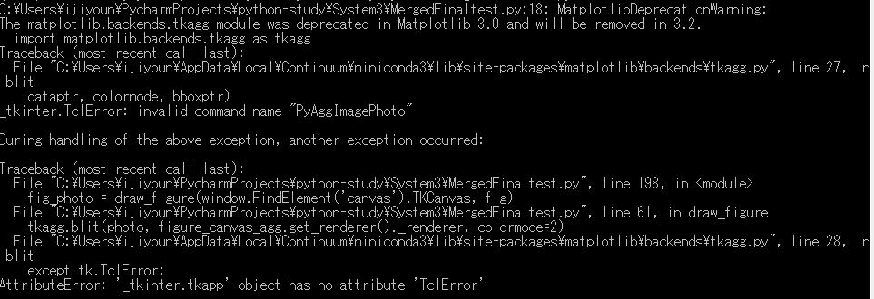 PySimpleGUI] Matplotlib into exe file · Issue #1747 · PySimpleGUI