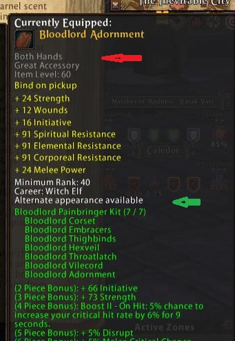 Bloodlord Adornment